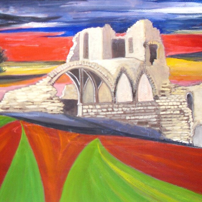 St Cuthbert's Paper award - Kirkham Priory by Rita Browne