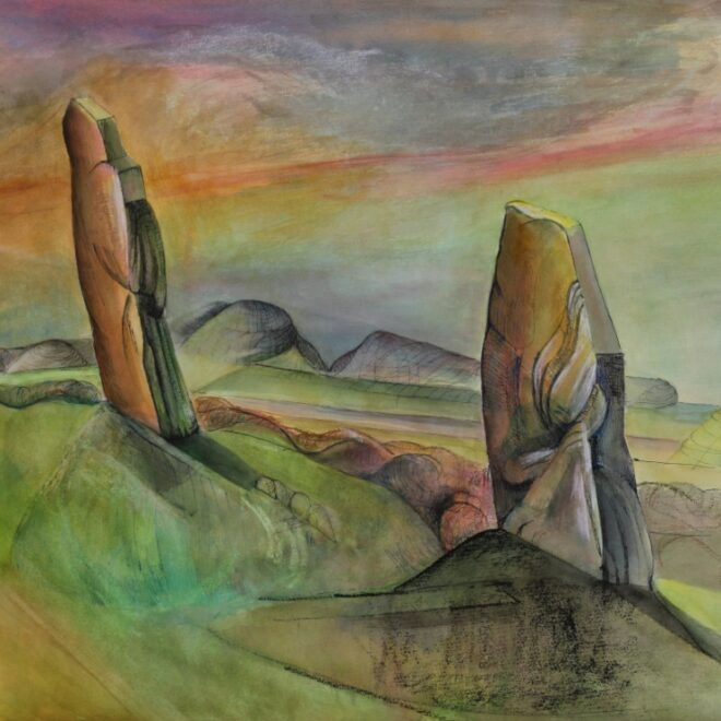 Ring of Brodgar by Julia Sorrell