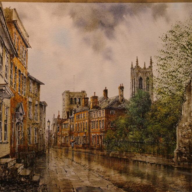 Crown St, Bury by Reg Siger
