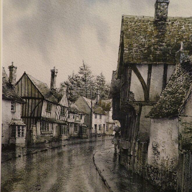 Kersey Rain by Reg Siger