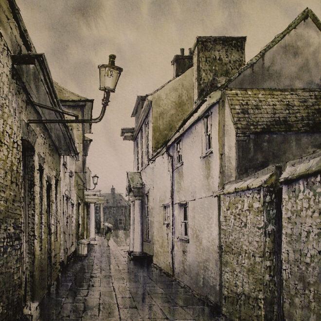 Atheneaum Lane, Bury by Reg Siger