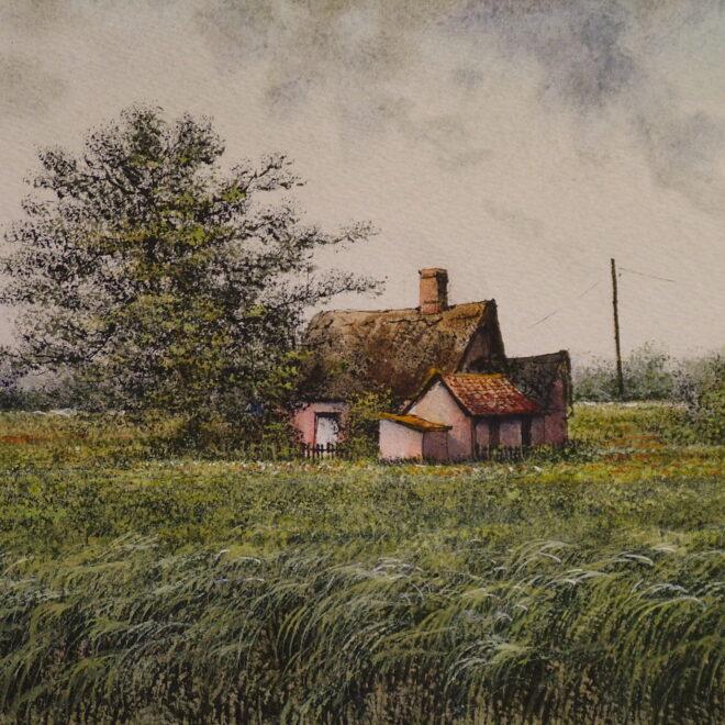 Farmhouse, Eye by Reg Siger