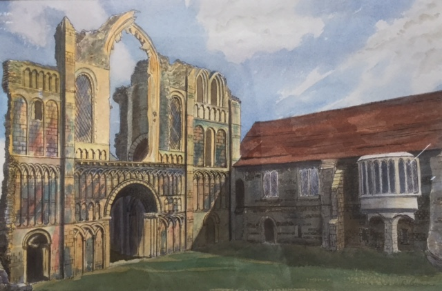 At Castle Acre, Norfolk by Rita Browne