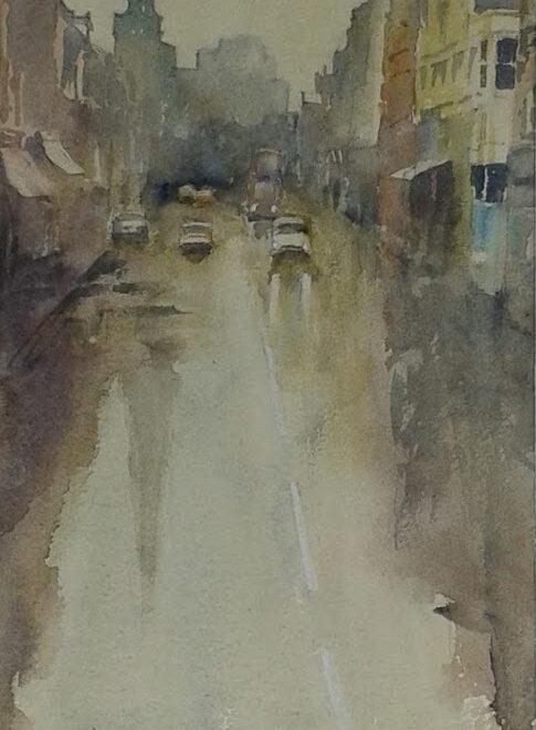 Heavy Rain by Sue Lees
