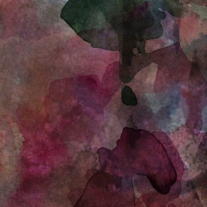Beyond. 17 x 36cm Watercolour by Beverly Hughes
