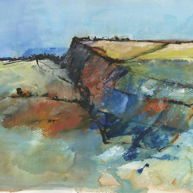 The SEAW Members Award: Tregardock Cliffs by Vandy Massey