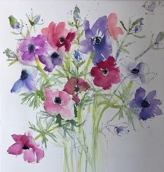 Anemones Helen Clarke