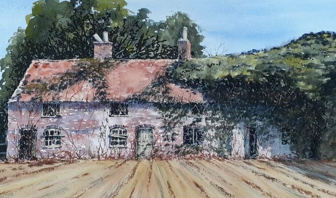 Cottages_-_Old by Linda Purdy