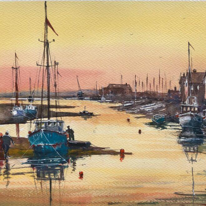Wells Evening by Surinder Beerh