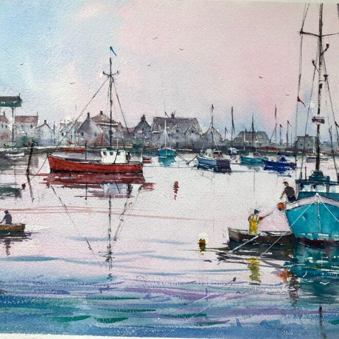 Wells Harbour by Surinder Beerh