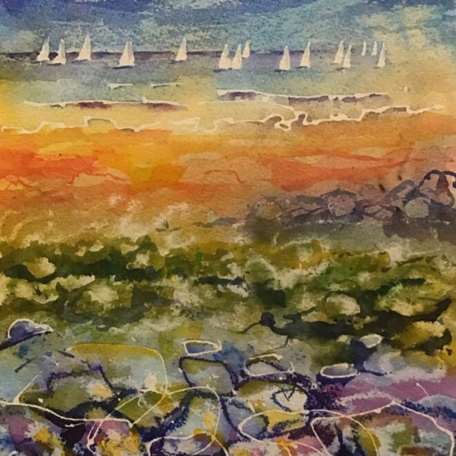 Sun, Sails and Seaweed by Susan Keeble