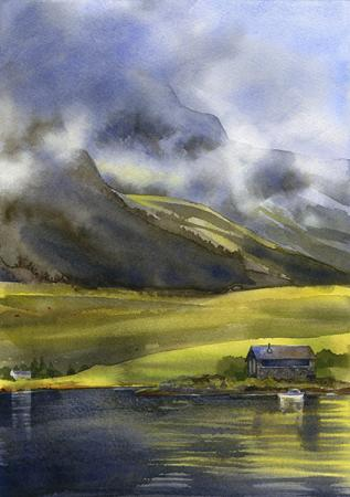lonely_cottage by Petula Stone