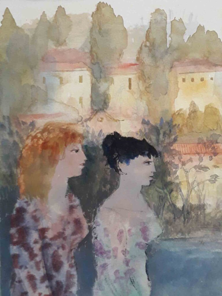 Two-Ladies-in-Verona--by-Richard-Sorrell