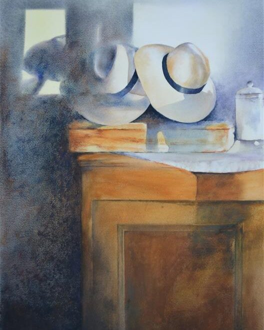 Alan Noyes (SEAW) - Hat stack