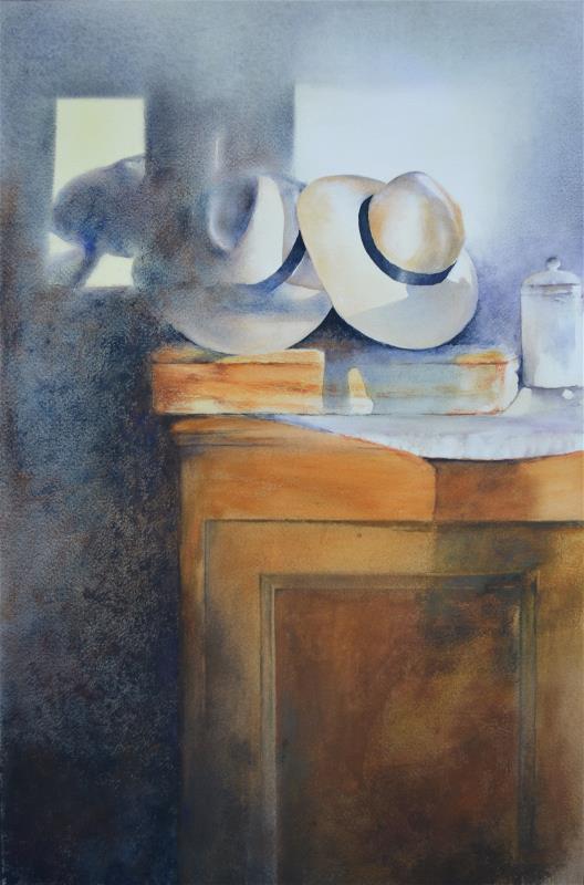 Alan Noyes - Hat stack