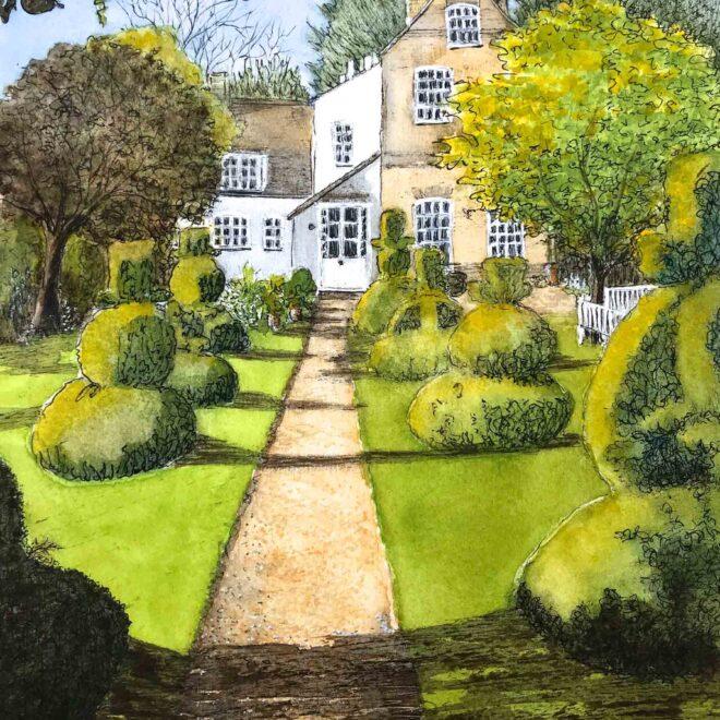 The-Manor-House,-Hemingford-Grey-by-Christine-Wilson