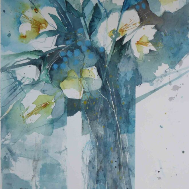 Blue-Ice-White-Hellebores-by-Carol-Whitehouse