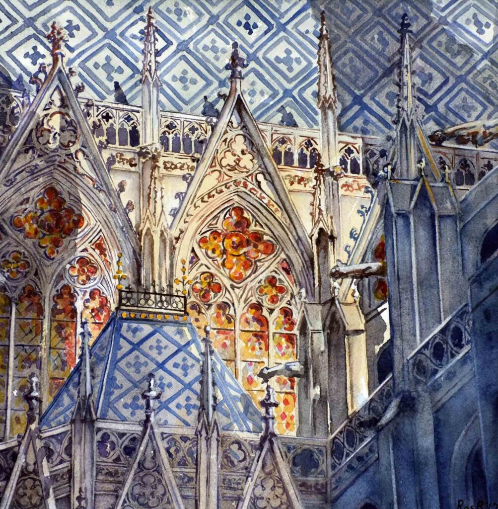 Ros Ridley. St Stephen's Cathedral. Vienna