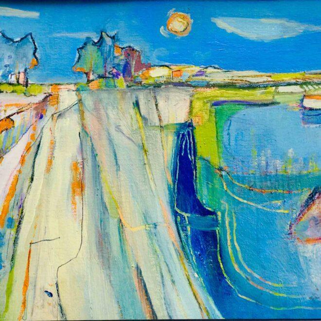 Brancaster-salt-Marsh-by-Lesley-Munro