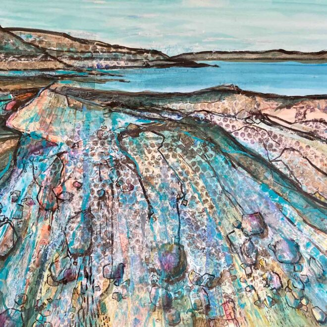 Rockpools-and-inlets-by-Lesley-Munro
