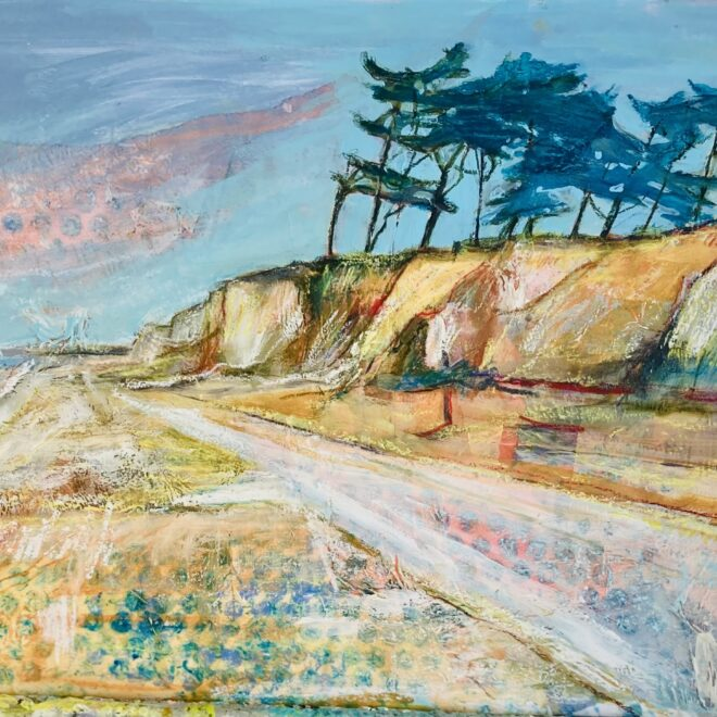 To Covehithe, Suffolk by Lesley Munro